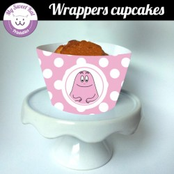 Barbapapa - Cupcakes wrappers