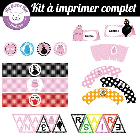 Barbapapa - Kit complet