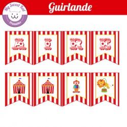 Cirque - guirlande