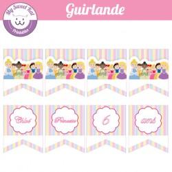 Princesses - guirlande