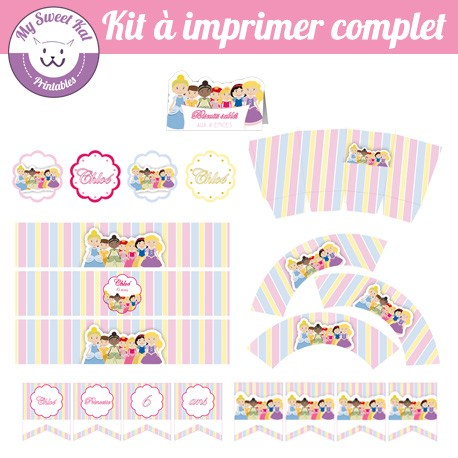Princesses D - Kit complet