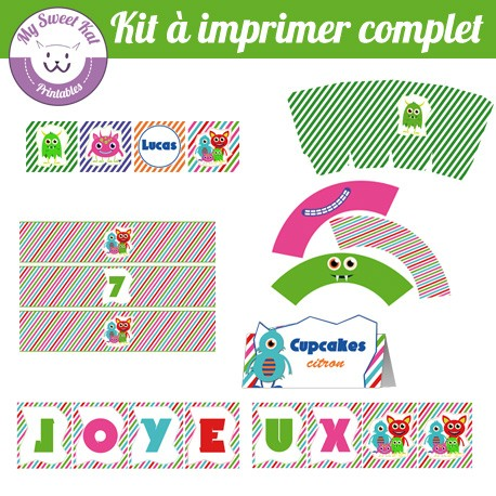 Monstres - Kit complet