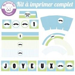 Moustache - Kit complet