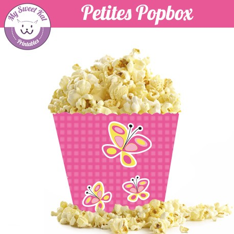 Papillon - Petite popbox