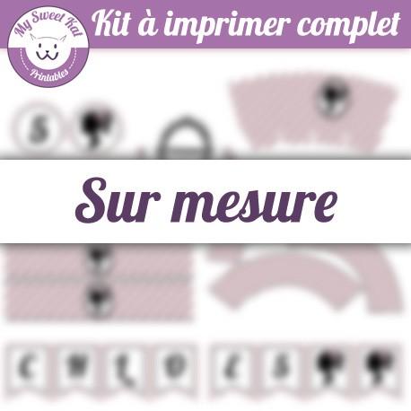 Kit complet sur mesure personnalisé