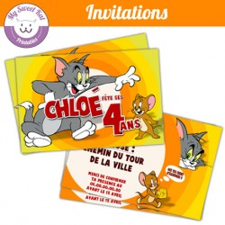 tom et jerry - Invitations