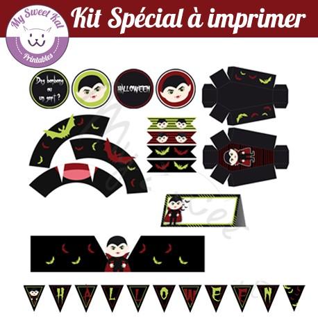 Halloween vampires - Kit spécial