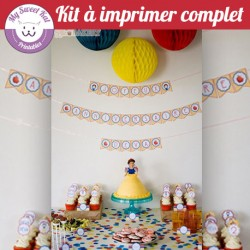 Blanche neige - Kit complet