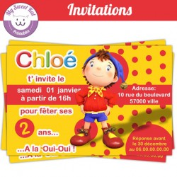 Oui-Oui - Invitations
