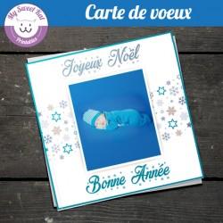 carte-de-voeux-avec-photo-carree-bleue-argent
