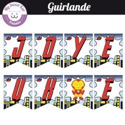 Baby Avengers  - Guirlande
