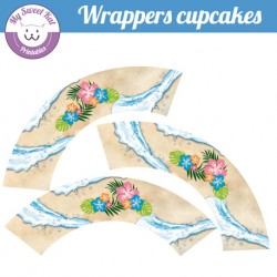 Vaiana - Cupcakes wrappers
