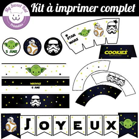 Star wars - Kit complet