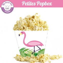 Tropical flamingo - Petite popbox