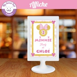 Affiche - Minnie Party