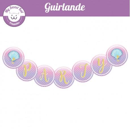Sirène - Guirlande