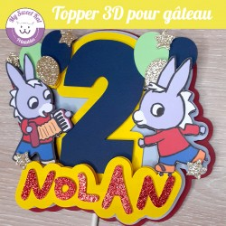 Topper 3D -  Trotro
