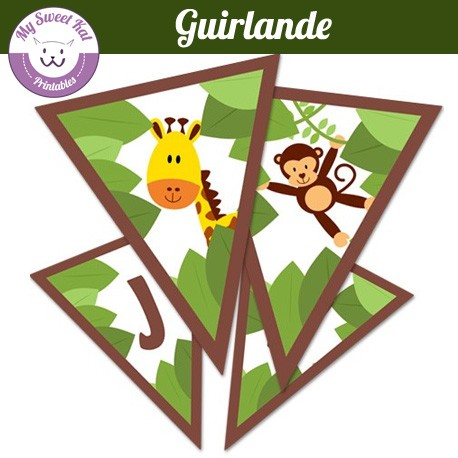 Jungle - Guirlande