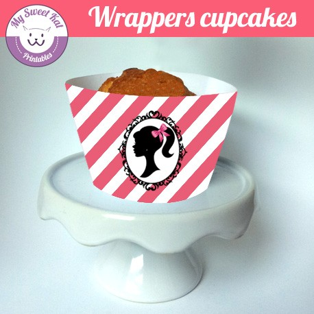 Barbie - Cupcakes wrappers