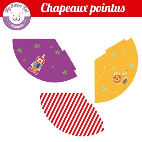 Cirque - chapeaux pointus