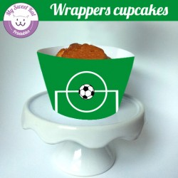 Foot - Cupcakes wrappers