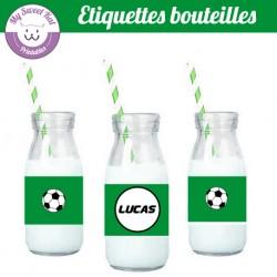 Foot - Etiquettes bouteilles