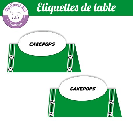 Foot - Etiquettes de table