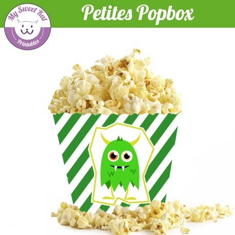 Monstres - Petite popbox