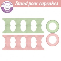 Hibou - chouette - stand cupcakes