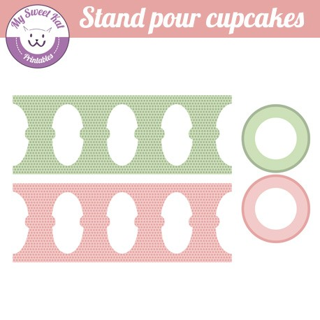 hibou - chouette - stand cupcake