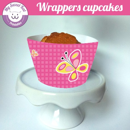 Papillon - Cupcakes wrappers