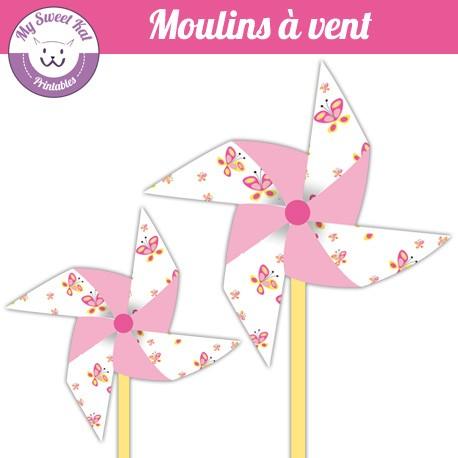Papillon- moulins à vent