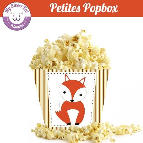 Renard - Petite popbox