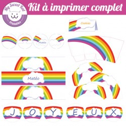 rainbow - Kit complet
