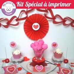kit a imprimer st valentin