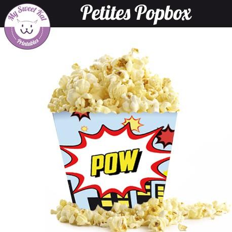 Baby Avengers - petite popbox