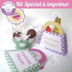 Oeufs de Pâques - Kit spécial
