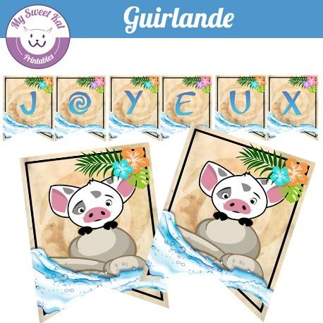 vaiana  - Guirlande
