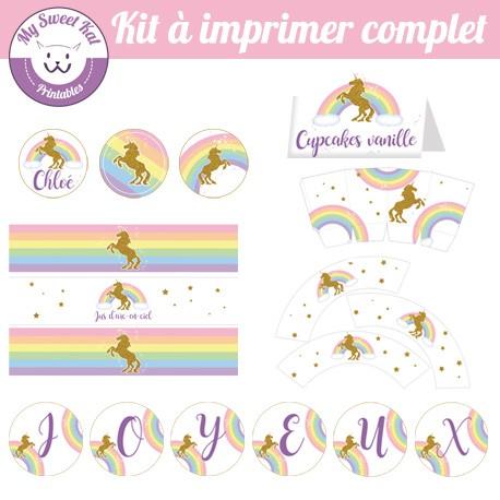 Licorne - Kit complet