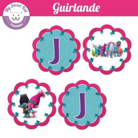 Trolls - Guirlande