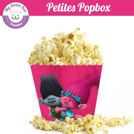 trolls - Petite popbox