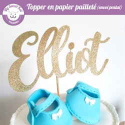 """Cake topper """"Prénom"""""""