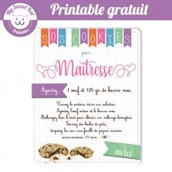 SOS Cookies- maitresse