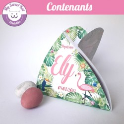 Tropical flamingo - Contenant
