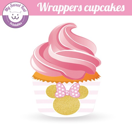 Minnie - Cupcakes wrappers