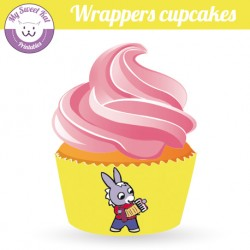 Trotro - Cupcakes wrappers