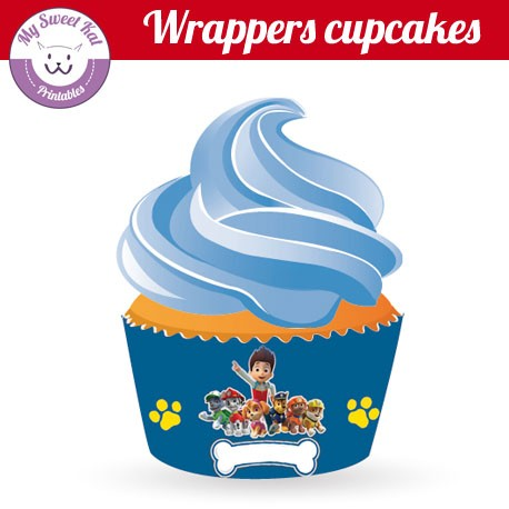 Pat patrouille - Cupcakes wrappers