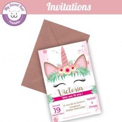 Licorne 2  - Invitations