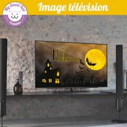 Image télé pour Halloween