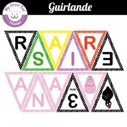 barbapapa- Guirlande